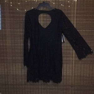 NWT ABSOLUTELY GORGEOUS Black Lace Dress